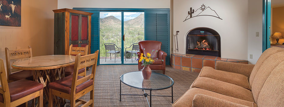 Starr Pass Golf Suites Guest Bedroom in Tucson, Arizona